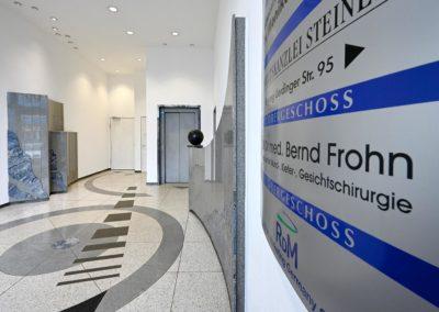 Praxis Dr. Frohn - Eingang